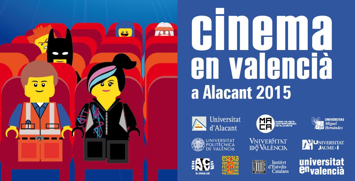 CINEMA EN VALENCIÀ 2015 A ALACANT