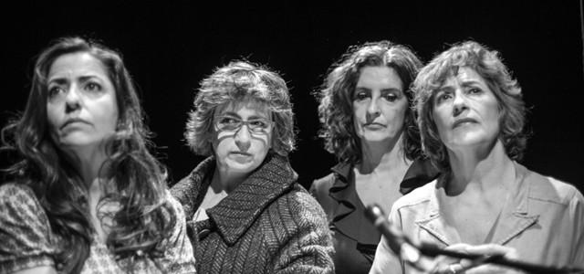 TEATRE PRINCIPAL D'ALACANT: Cinc actrius lligen a Rodoreda