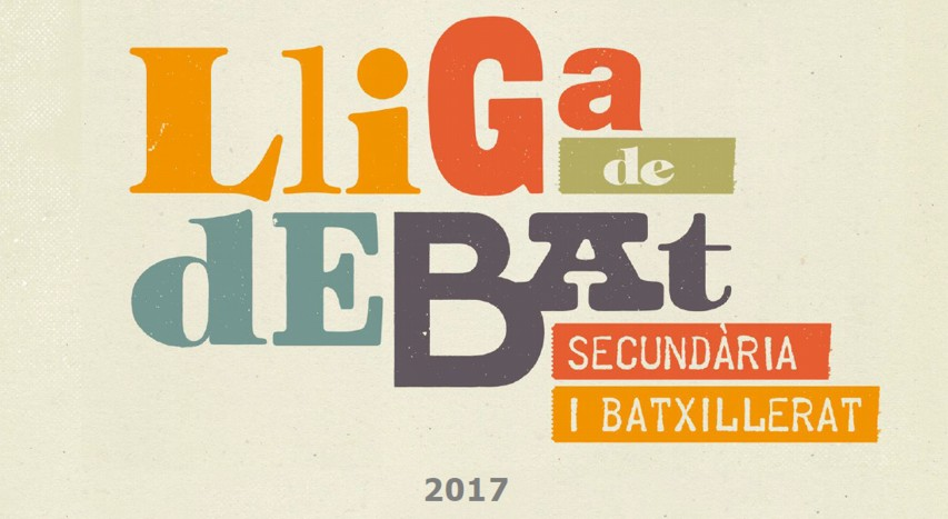 Lliga Debat de secundària, batxillerat i cicles formatius 2017