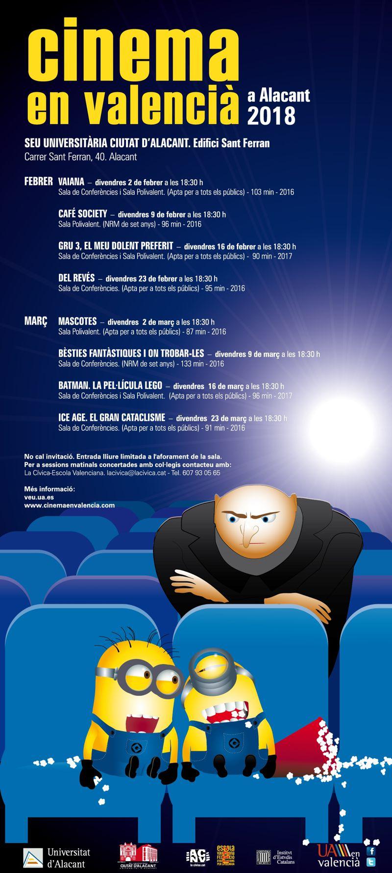 ALACANT: Cinema en valencià 2018