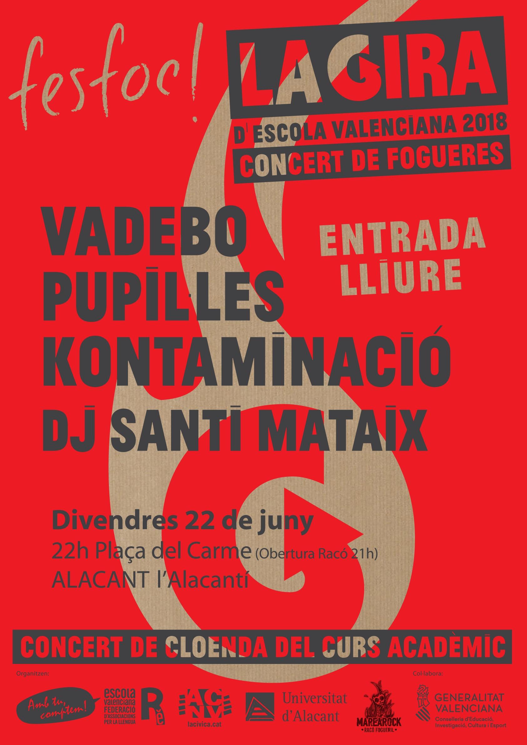 ALACANT: FESFOC 2018 Concert de Fogueres