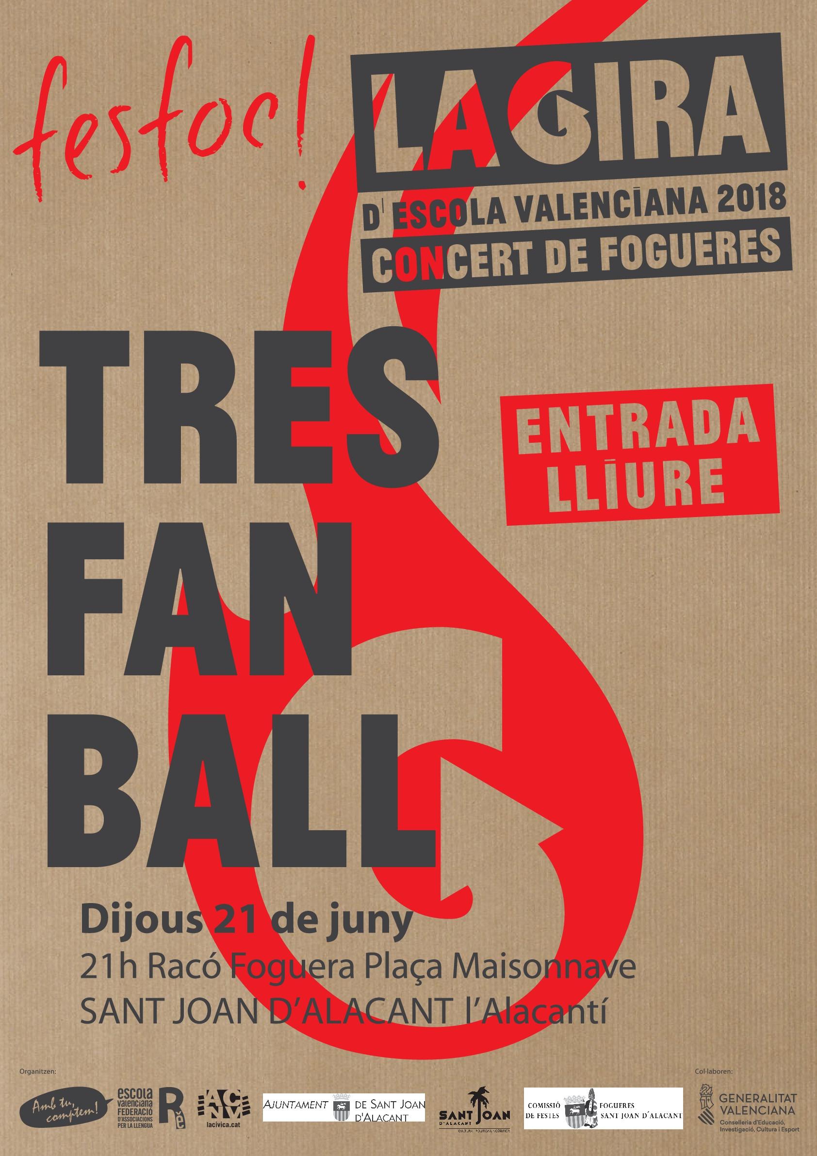 SANT VICENT DEL RASPEIG: FESFOC 2018 Concert de Fogueres